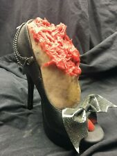 Raunchy Hooker Foot Halloween Horror Skeleton Prop Made in the Usa.