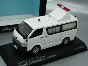 1/43 Rai's TOYOTA HIACE DX 4DOOR POLICE CAR 2008 (WHITE)