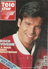 Télé Star N°810 - 06 Avril 1992 - Roch Voisine - Pivot - R. Anconina - Silvana