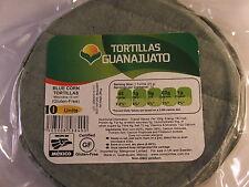 Mexican BLUE Corn Tortillas 15cm Ziplock (10 Pack) GLUTEN-FREE 250g BBD: 11/2018