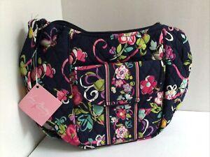 VERA BRADLEY Purse Crossbody Clare Ribbons Shoulder Bag Floral Hand Bag NWT