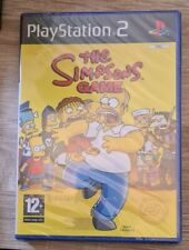 Sony Playstation 2 Game - The Simpsons Game - Brand New & Sealed PAL Version Ps2