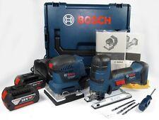 BOSCH 18V Schwingschleifer GSS 18V-10 & Stichsäge GST 18 V-LI S + 2x 5Ah + L-Box