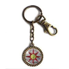 Dark Souls Solaire of Astora Sun Keychain Key Chain Key Ring Sunlight Shield