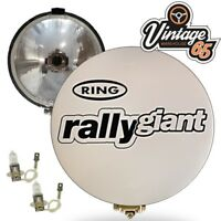 "Bus Coach Minibus Ring Rally Giants 12v 7"" Driving Spot Lamps With Covers"