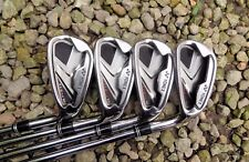 Set of 4 x Yonex Ezone SD Irons 5 6 7 & 8 Regular Steel Shafts Golf Pride Grips