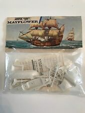 Vintage Airfix Model Kit MAYFLOWER Historical Ships Series  Blue Stripe Poly Bag
