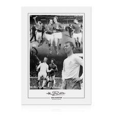 Jack Charlton Signed Photo - England & Leeds Football Legend Autograph