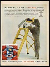 1961 toy poodle photo Ken L Ration dog food vintage print ad