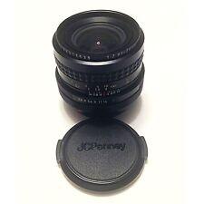 J C Penney Multi-coated Optics 1:2.8 f=28mm =52mm Lens Canon