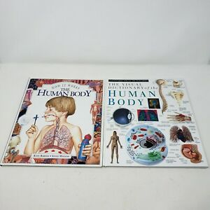 The Human Body How It Works Visual Dictionary Books Educational Encyclopedia Lot