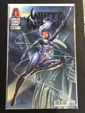 WHITE WIDOW #2 ACE CONTINUADO EMBOSSED VARIANT COVER ABSOLUTE COMICS NM