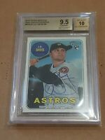 2018 Topps Heritage Real One BGS 9.5/10 J D DAVIS RC Auto AUTOGRAPH RC Rookie