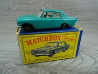 Matchbox Lesney Vintage 1963 No 33 Ford Zephyr III Sea Green Diecast Car Boxed