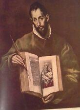 St. Luke (MINI PRINT) Domenicos  T. El Greco