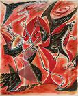 ANDRE MASSON Le braconnier (1931) (62x50cm), CANVAS, POSTER FREE P&P