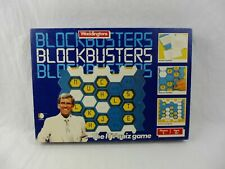 Vintage Waddingtons Blockbusters Game 1986 Complete 3 players Age 12+
