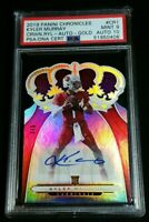 PSA 9/10 1/1 KYLER MURRAY RC AUTO /5 SSP GOLD ROOKIE 2019 Panini Crown Royale #1