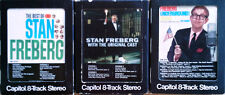 STAN FREBERG - BEST OF, WITH ORIG. CAST, UNDERGROUND - (3) 8 TRACK TAPES