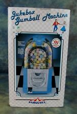 Jukebox Carousel Gumball Machine 1990 Blue New in Box Model 3200