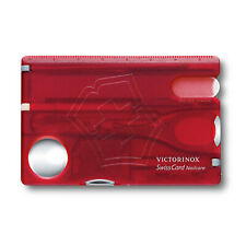 Victorinox Swiss Army SwissCard Nailcare 13 Tools - Red