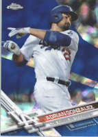 ADRIAN GONZALEZ 2017 TOPPS CHROME SAPPHIRE EDITION #117 ONLY 250 MADE
