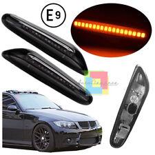 BMW E87 E82 E90 E60 E46 X1 FRECCE LATERALI DESIGN FUME INDICATORI LED