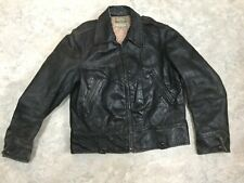 New listing Rare Motorcycle Police Jacket Horse Hide Vintage California Size 40,
