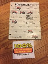 2005 Bombardier Atv Rally 200 Shop Service Repair Manual P/N 219 100 195
