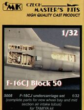 CMK 1/32 F-16CJ Block 50 Fighting Falcon Undercarriage Set for Tamiya # 5008