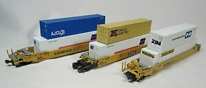 N scale KATO ? , Articulated Well  Car Gunderson Maxi-Stack IV  DTTX 732753