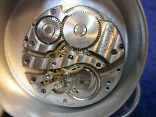 watch movement w good dial 12s Howard 17J Hc pocket