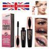 4D Silk Fibre Mascara Waterproof Eyelashes Lash Long Lasting Extension Make Up