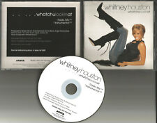 WHITNEY HOUSTON whatchulookinat INSTRUMENTAL & RARE MIX  PROMO DJ CD single 02