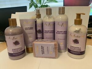 SheaMoisture, Strength + Color Care Shampoo, Purple Rice Water Range