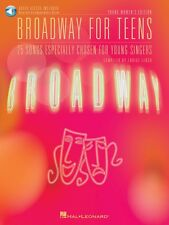 Broadway for Teens Young Women's Ed. Vocal Collection Book and Audio 000000402