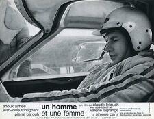 JEAN-LOUIS TRINTIGANT UN HOMME ET UNE FEMME 1966 VINTAGE LOBBY CARD #12