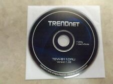 SETUP CD for TRENDnet TEW-811DRU Dual Band Wireless Router