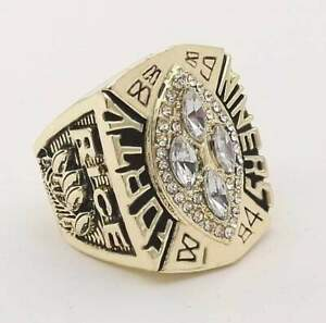 Jerry Rice Championship Ring 1989 Football sport team gold US size 10-12