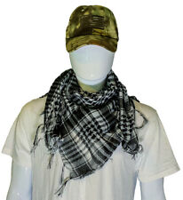 Shemagh Military Arab Tactical Desert Keffiyeh Scarf, Size 3'x3'