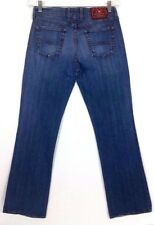 Lucky Brand Women's Jeans Dungarees Size 6/28 Inseam 30 Midrise Flare Blue Denim