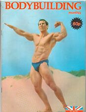 BODYBUILDING MONTHLY muscle mag/Bill Tierney + double centerfold poster 9-79