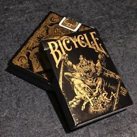 Asura Black Gold Deck Bicycle Playing Cards Poker Size USPCC Custom Limited New