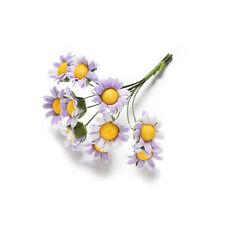 10x Mini Daisy Artificial Flowers Bouquet Scrapbooking Flower M&C