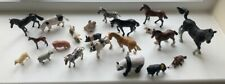 Mixed set of small plastic animals