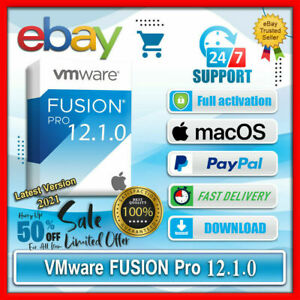 🔐 VMware Fusion 12 PRO for Mac OS✅ UNLIMITED USERS ✅ Lifetime Product Key ✅