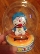 "Doraemon Solar Energy ""sleepy eyes"" cat eyes Sunshine Toy Figure Doll New"