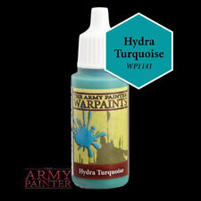 The Army Painter System Warpaints Hydra Turquoise 18ml NIB Acrylic Paint