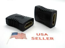 HDMI Female to Female Coupler Connector Adapter Cable (2 Pieces) USA SELLER