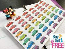 PP226 -- Small Van Life Planner Stickers for Erin Condren (48pcs) BUY2GET1FREE